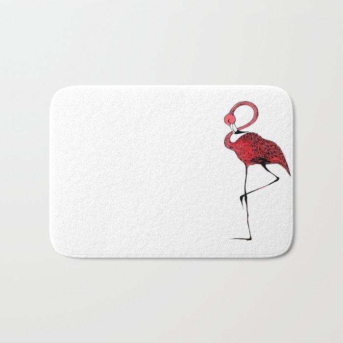 Mr. Flamingo Bath Mat