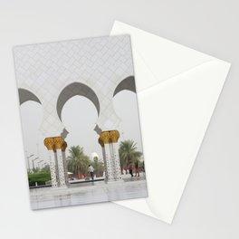 Sheikh Zayed Mosk in Abu Dhabi Stationery Cards