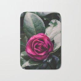 Purple Camellia Bath Mat