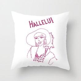 Hallelu! Throw Pillow