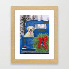 Pick-En Up The Christmas Tree Framed Art Print