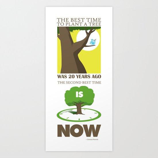 Plant a Tree Art Print