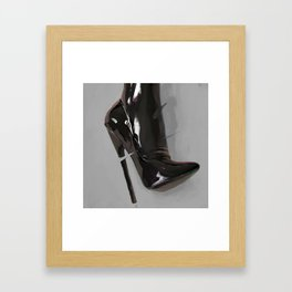 Heel Framed Art Print