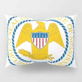Mississippi State Seal Pillow Sham