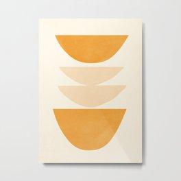 Abstract Shapes 36 Metal Print