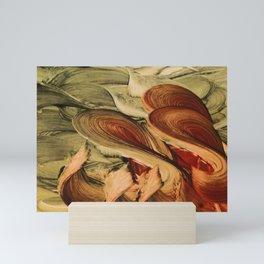 Four of Wands Mini Art Print
