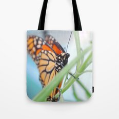 Butterfly Portrait Tote Bag