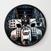 gundam Wall Clocks featuring Robotech by Danielle Tanimura