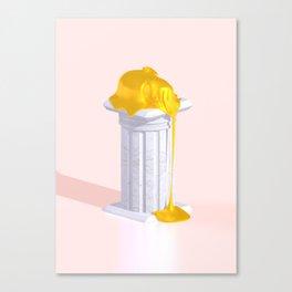 Golden Misery Canvas Print