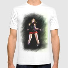 live for Dance White Mens Fitted Tee MEDIUM