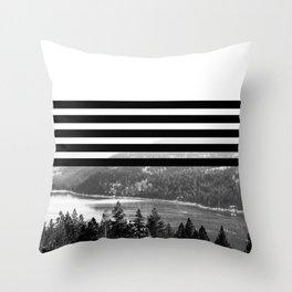 Stripes 2 Throw Pillow