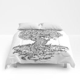 Ancient Tree II Comforters