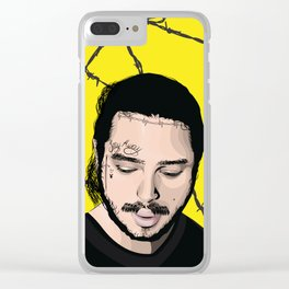 Malone Post Clear iPhone Case