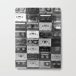 Mixtape Memories Metal Print
