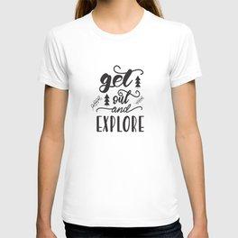 travel lettering T-shirt
