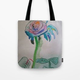 Flower inspiration modern paintings by Christian T. Tote Bag