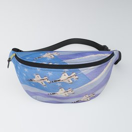 Land of the Free Home of the Brave Fanny Pack