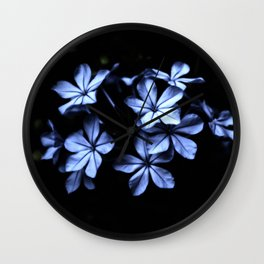 Under The Blue Moon Wall Clock