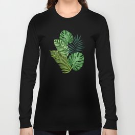 Tropical leaves III Long Sleeve T-shirt