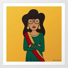 Desi Daria Art Print