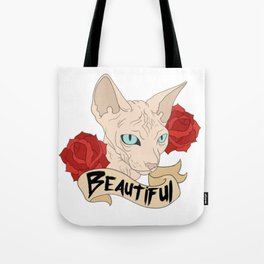 Beautiful Sphynx Tote Bag