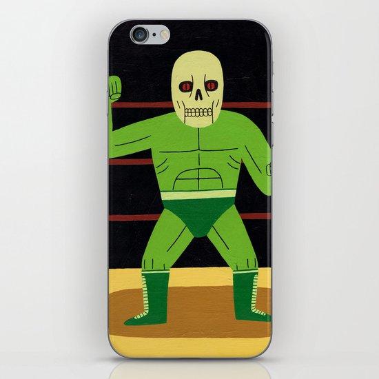 The Glowing Skull iPhone Skin