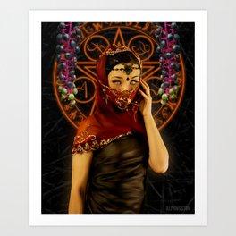 Saint Poke Art Print