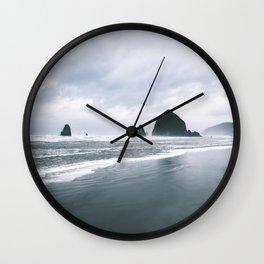 Cannon Beach VI Wall Clock
