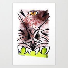 NOLA TIKI 2 Art Print