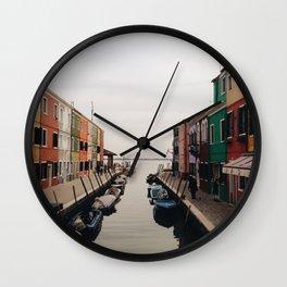 Burano II Wall Clock