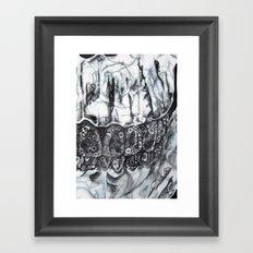 Phantom Flowers  Framed Art Print