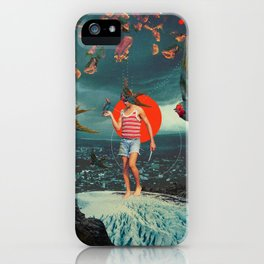 The Boy and the Birds iPhone Case