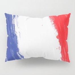 France's Flag Design Pillow Sham
