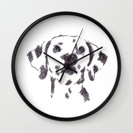Dalmatian Dog Wall Clock