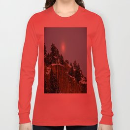 Snowy Night Long Sleeve T-shirt