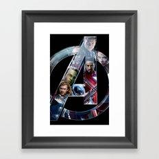 The Avengers 2 Framed Art Print
