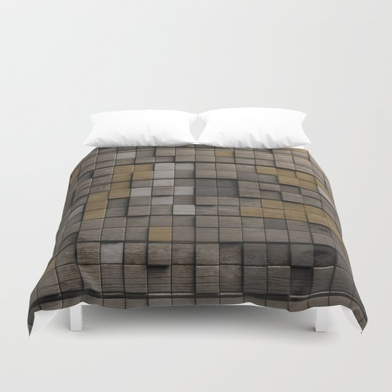 Wood pattern Duvet Cover
