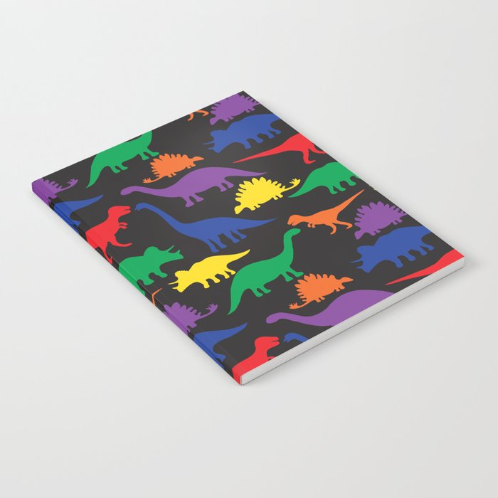 Dinosaurs - Black Notebook