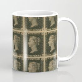 Penny Black Postage Coffee Mug