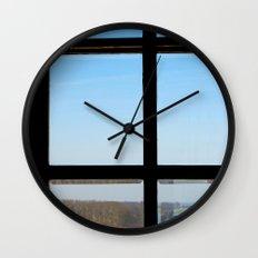 Clear Wall Clock