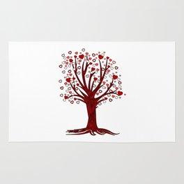 Heart Tree (2) Rug