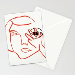 Seeing the whole truth Stationery Cards