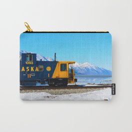 Caboose - Alaska Train Carry-All Pouch