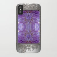 randy c iPhone & iPod Cases featuring Mingus Randy Abstract by JMcCombie