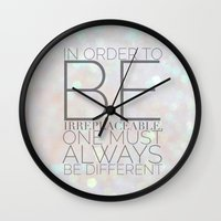 coco Wall Clocks featuring COCO by REASONandRHYME
