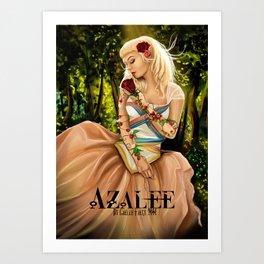 Azalée  Art Print