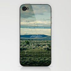 Whitman: Earth iPhone & iPod Skin