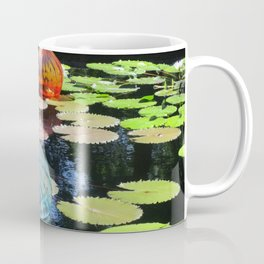 Lily Pond and Glass Floaters Coffee Mug