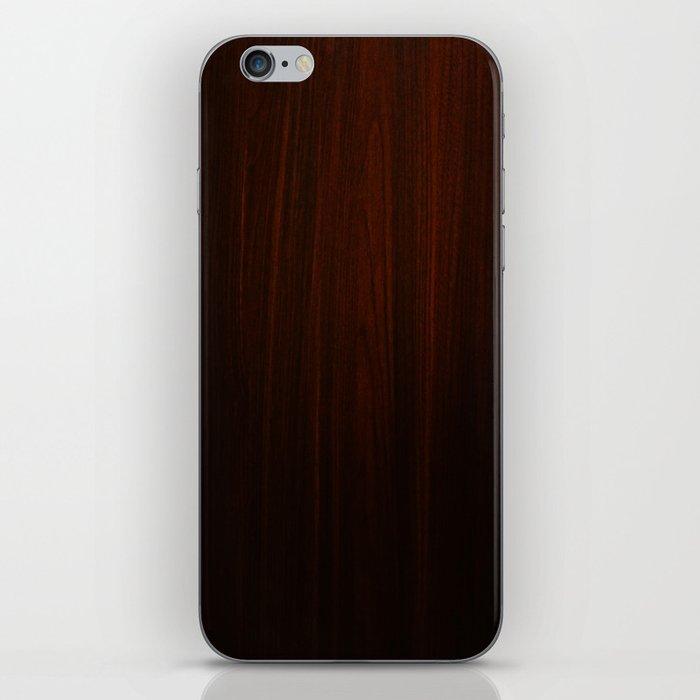 Wooden case iPhone Skin