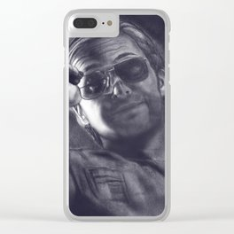Splinter me to the 70's Clear iPhone Case